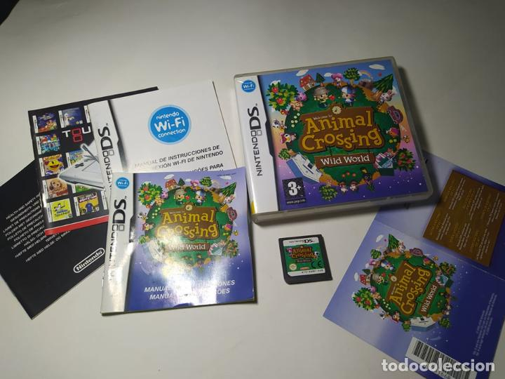 ANIMAL CROSSING : WILD WORLD ( NINTENDO DS - PAL - ESP)(1) (Juguetes - Videojuegos y Consolas - Nintendo - DS)