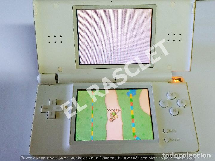 CONSOLA NINTENDO DS LITE - COLOR BLANCO - MODELO USG 001 - AÑO 2006 - FUNCIONA - SOLO PARA PIEZAS (Juguetes - Videojuegos y Consolas - Nintendo - DS)
