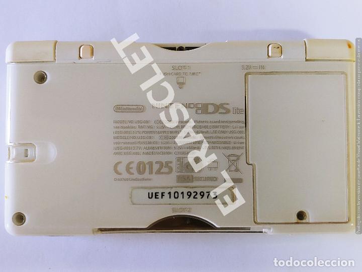Videojuegos y Consolas: CONSOLA NINTENDO DS LITE - COLOR BLANCO - MODELO USG 001 - AÑO 2006 - FUNCIONA - SOLO PARA PIEZAS - Foto 6 - 288052748