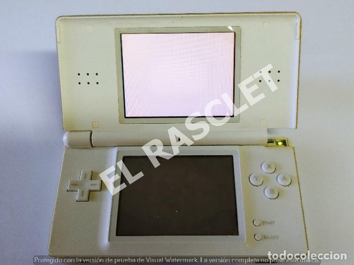 Videojuegos y Consolas: CONSOLA NINTENDO DS LITE - COLOR BLANCO - MODELO USG 001 - AÑO 2006 - FUNCIONA - SOLO PARA PIEZAS - Foto 12 - 288052748