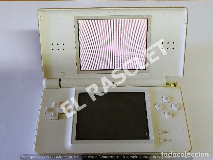 Videojuegos y Consolas: CONSOLA NINTENDO DS LITE - COLOR BLANCO - MODELO USG 001 - AÑO 2006 - FUNCIONA - SOLO PARA PIEZAS - Foto 14 - 288052748