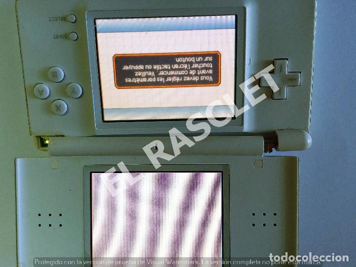 Videojuegos y Consolas: CONSOLA NINTENDO DS LITE - COLOR BLANCO - MODELO USG 001 - AÑO 2006 - FUNCIONA - SOLO PARA PIEZAS - Foto 16 - 288052748