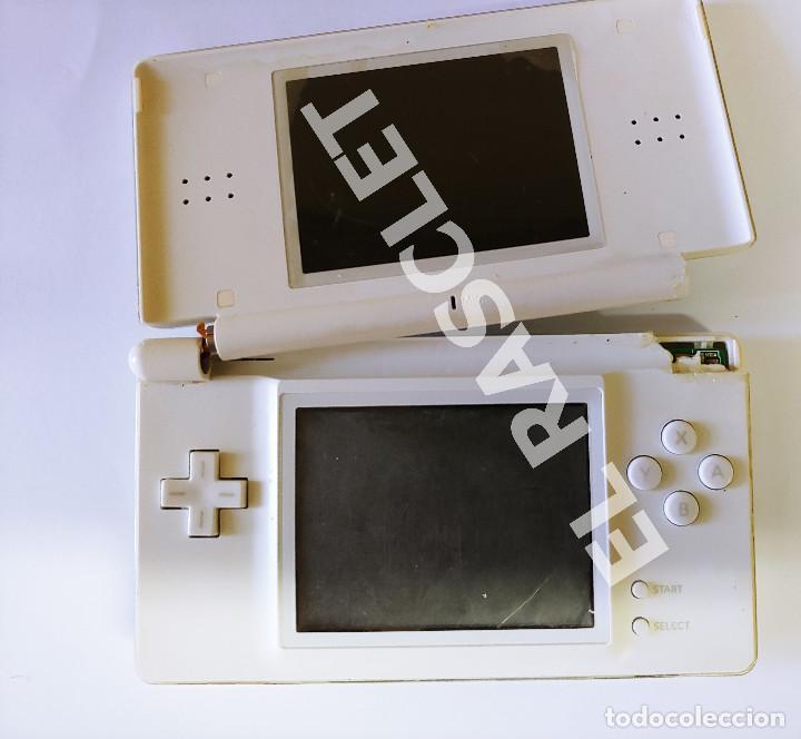 Videojuegos y Consolas: CONSOLA NINTENDO DS LITE - COLOR BLANCO - MODELO USG 001 - AÑO 2006 - FUNCIONA - SOLO PARA PIEZAS - Foto 19 - 288052748