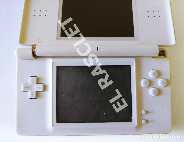 Videojuegos y Consolas: CONSOLA NINTENDO DS LITE - COLOR BLANCO - MODELO USG 001 - AÑO 2006 - FUNCIONA - SOLO PARA PIEZAS - Foto 20 - 288052748