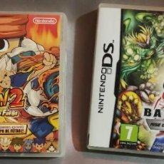Videojuegos y Consolas: NINTENDO DS - INAZUMA ELEVEN 2 Y BAKUGAN - CAJAS VACIAS EN LA DE BAKUGAN HAY INSTRUCCIONES. Lote 288076408