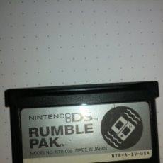Videojuegos y Consolas: NINTEND0 DS RUMBLE PACK ORIGINAL. Lote 288372198