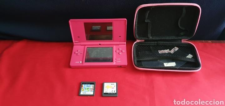 CONSOLA NINTENDO DS + 2 JUEGO SIN PROBAR (Juguetes - Videojuegos y Consolas - Nintendo - DS)