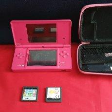 Videojogos e Consolas: CONSOLA NINTENDO DS + 2 JUEGO SIN PROBAR. Lote 288509988