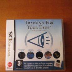 Videojuegos y Consolas: TRAINING FOR YOUR EYES, ENTRENA Y RELAJA LA VISTA (NINTENDO DS). Lote 289027563