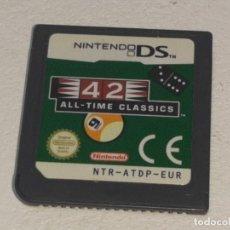 Videojuegos y Consolas: NINTENDO DS : ANTIGUO JUEGO 42 ALL TIME CLASSICS FUNCIONANDO. Lote 289215678