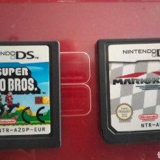 Videojuegos y Consolas: NEW SUPER MARIO BROS Y MARIO KART NINTENDO DS. Lote 289434953