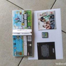 Videojuegos y Consolas: NEW SUPER MARIO BROS NINTENDO DS NDS PAL-ESPAÑA. Lote 289568993