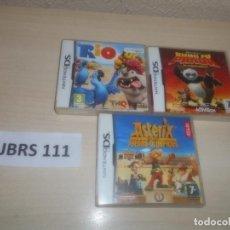 Videojuegos y Consolas: RIO + KUNG FU PANDA + ASTERIX EN LOS JUEGOS OLIMPICOS. Lote 289685898