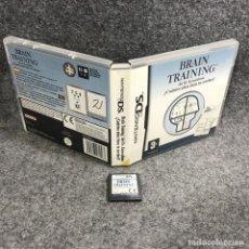 Videojuegos y Consolas: BRAIN TRAINING NINTENDO DS. Lote 289938703