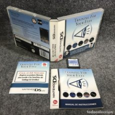 Videojuegos y Consolas: TRAINING FOR YOUR EYES NINTENDO DS. Lote 289938743