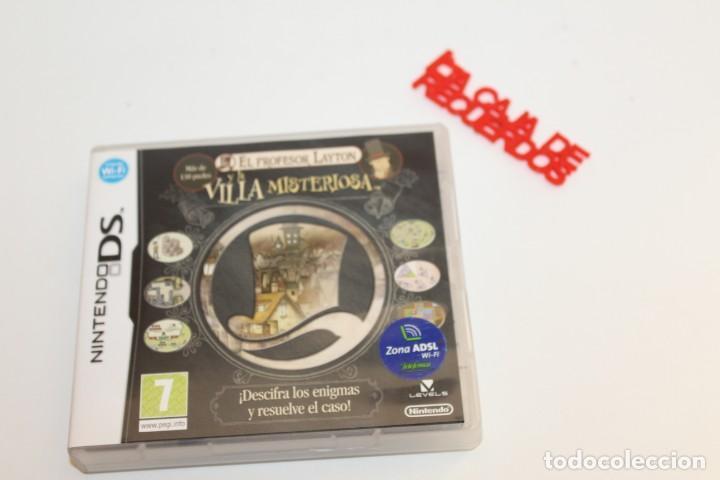NINTENDO DS JUEGO EL PROFESOR LAYTON Y LA VILLA MISTERIOSA - COMPLETO (Juguetes - Videojuegos y Consolas - Nintendo - DS)