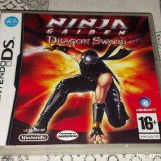 Videojuegos y Consolas: NINJA GAIDEN DRAGON SWORD NINTENDO DS PAL ESPAÑA. Lote 293665268