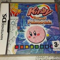Videojuegos y Consolas: KIRBY POWER PAINTBRUSH NINTENDO DS PAL ESPAÑA. Lote 293697273