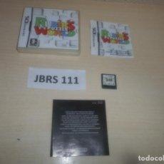 Videojuegos y Consolas: DS - RUBIKS PUZZLE WORLD , PAL ESPAÑOL , COMPLETO. Lote 294003348