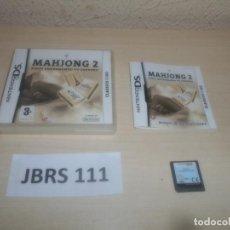 Videojuegos y Consolas: DS - MAHJONG 2 , PAL ESPAÑOL , COMPLETO. Lote 294003493