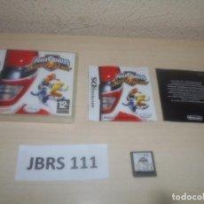 Videojuegos y Consolas: DS - POWER RANGERS SUPER LEGENDS , PAL ESPAÑOL , COMPLETO. Lote 294003573