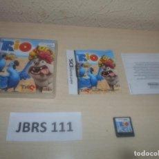 Videojuegos y Consolas: DS - RIO , PAL ESPAÑOL , COMPLETO. Lote 294003853