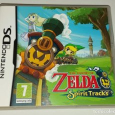 Videojuegos y Consolas: ZELDA SPIRIT TRACKS NINTENDO DS PAL ESPAÑA COMPLETO. Lote 294944398