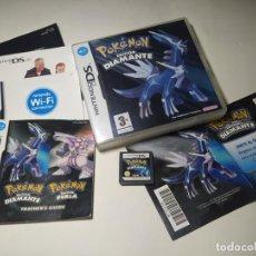 Videogiochi e Consoli: POKEMON EDICION DIAMANTE ( NINTENDO DS - PAL - ESP) (2). Lote 295334443