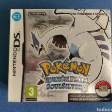 Videojuegos y Consolas: POKEMON PLATA SOULSILVER (SIN POKEWALKER) - NINTENDO DS (REMAKE DE GAME BOY). Lote 295489613