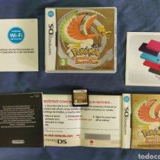 Videojuegos y Consolas: POKEMON ORO HEARTGOLD - NINTENDO DS (PUNTOS SIN RASCAR) ( REMAKE DE GAME BOY). Lote 295490228