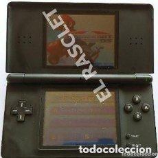 Videojuegos y Consolas: CONSOLA NINTENDO DS LITE - COLOR NEGRO - MODELO USG 001 - AÑO 2006. Lote 295838553