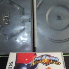 Videojuegos y Consolas: NINTENDO DS POWE RANGERS SUPER LEGENDS. Lote 296832128