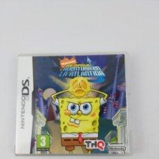 Videojuegos y Consolas: BOB ESPONJA AVENTURA EN LA ATLANTIDA NINTENDO DS. Lote 297098248
