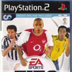 Videojuegos y Consolas: FIFA FOOTBALL 2004 * ORIGINAL *. Lote 24649867
