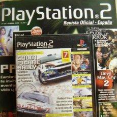 Videojuegos y Consolas: REVISTA PLAYSTATION2 Nº 24, ENERO 2003. INCLUYE DVD CON 7 DEMOS JUGABLES.. Lote 27322258