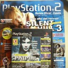 Videojuegos y Consolas: REVISTA PLAYSTATION2 Nº 27, ABRIL 2003. INCLUYE DVD CON 10 DEMOS JUGABLES.. Lote 24560840
