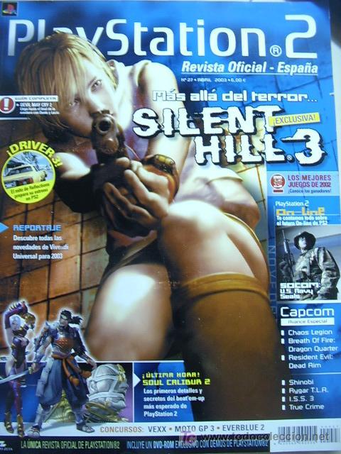 Videojuegos y Consolas: Revista Playstation2 nº 27, Abril 2003. Incluye DVD con 10 demos jugables. - Foto 2 - 24560840