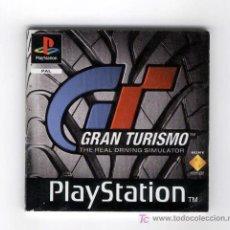 Videojogos e Consolas: LIBRITO MANUAL DEL JUEGO GRAN TURISMO DE PLAYSTATION, 1997-98. Lote 18046138