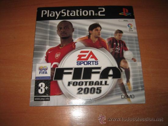 FIFA FOOTBALL 2005 PLAY STATION 2 (Juguetes - Videojuegos y Consolas - Sony - PS1)