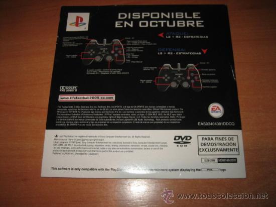 Videojuegos y Consolas: FIFA FOOTBALL 2005 PLAY STATION 2 - Foto 2 - 20919978