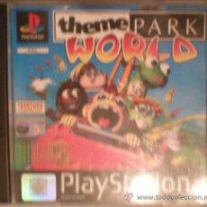 Videojuegos y Consolas: PLAYSTATION PS1 JUEGO THEME PARK WORLD. Lote 21048562