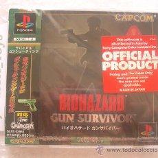 Videojuegos y Consolas: PS1 PLAYSTATION: JUEGO BIOHAZARD GUN SURVIVOR - RESIDENT EVIL / NUEVO Y PRECINTADO - NEW SEALED. Lote 27598431
