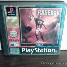 Videojuegos y Consolas: RAGEBALL - PLAYSTATION. Lote 26281256