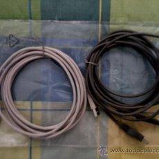 Videojuegos y Consolas: DOS CABLES PROLONGADOR INNOBO USB 3 METROS Y OTRO CABLE DE 1,80 METROS.. Lote 27538715
