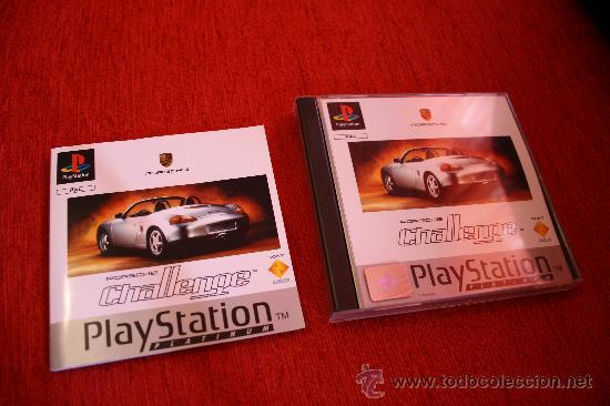 PLAYSTATION-1. JUEGO CONSOLA PORSCHE CHALLENGE PLATINUM. ENVIO GRATIS. (Juguetes - Videojuegos y Consolas - Sony - PS1)
