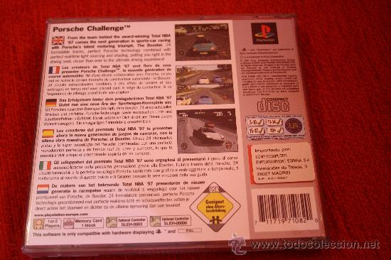 Videojuegos y Consolas: PLAYSTATION-1. JUEGO CONSOLA PORSCHE CHALLENGE PLATINUM. ENVIO GRATIS. - Foto 3 - 40586185