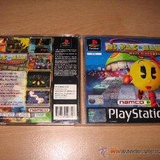 Videojuegos y Consolas: MS PAC MAN MAZE MADNESS PACMAN PARA PSX PAL ESPAÑA COMPLETO. Lote 29075624