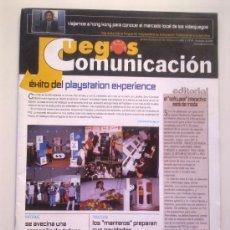 Videojuegos y Consolas: REVISTA JUEGOS PUNTO COMUNICACION Nº 49 - NOVIEMBRE 2003 - PLAYSTATION EXPERIENCE,ETC...- 32 PGS. Lote 29886961