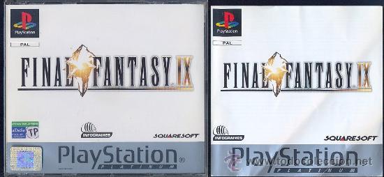 FINAL FANTASY IX (PAL ESPAÑA, ) (Juguetes - Videojuegos y Consolas - Sony - PS1)