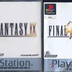 Videojuegos y Consolas: FINAL FANTASY IX (PAL ESPAÑA, ). Lote 30324328